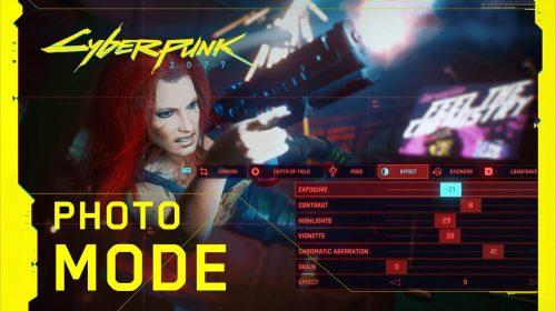 CDPR apresenta o Modo Foto de Cyberpunk 2077 em novo trailer