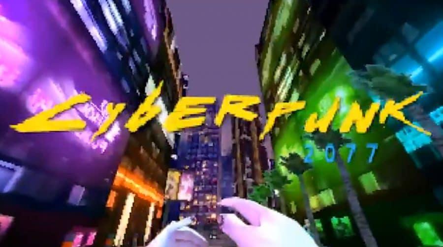 Cyberpunk 2077: dev simula versão de PS1 do game
