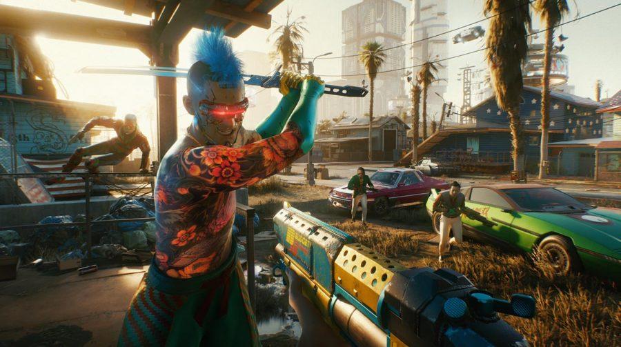 Cyberpunk 2077 no PS5 não permite escolher modos de desempenho, diz site