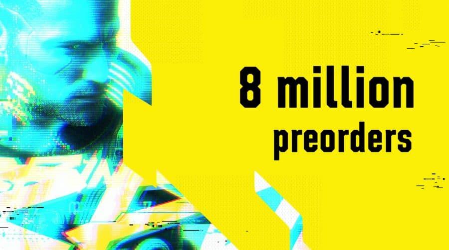 Cyberpunk 2077 vendeu 8 milhões de cópias na pré-venda, anuncia CDPR