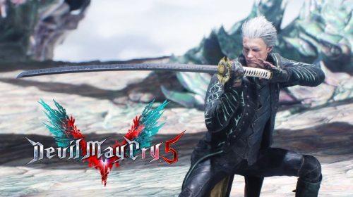 DLC de Vergil chega a Devil May Cry 5 de PS4