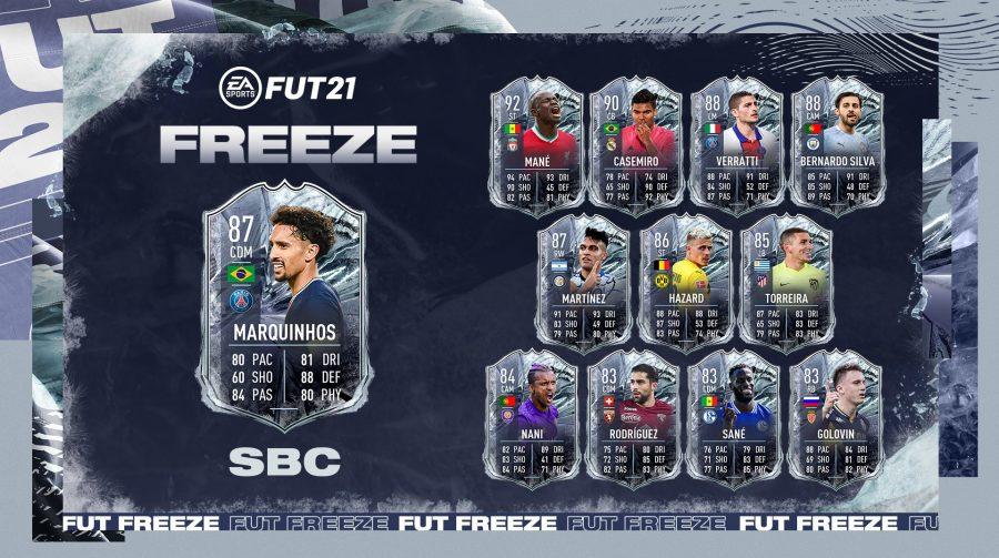 Nova promoção de FIFA 21 tem Marquinhos de volante e Casemiro