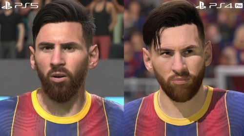 Digital Foundry se impressiona com fios de cabelos dos jogadores em FIFA 21 de PS5