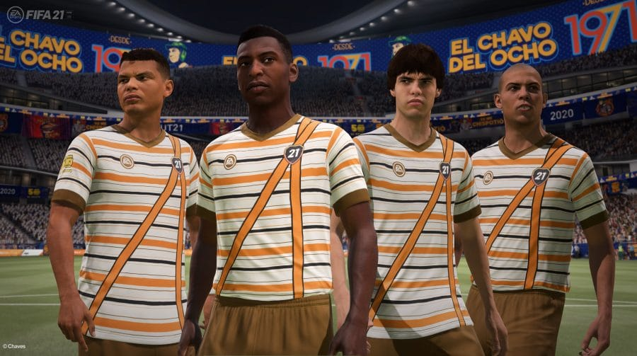 Sem querer querendo, EA Sports anuncia crossover entre FIFA 21 e Chaves
