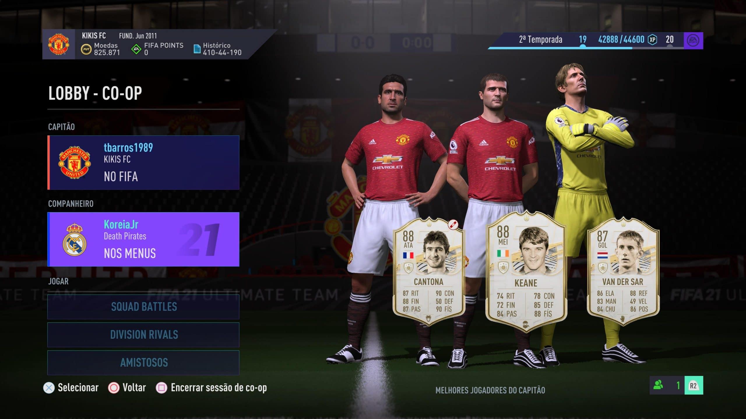 Coop segue divertido no FIFA 21 de PS5