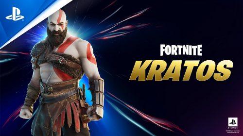 Kratos acaba de chegar oficialmente a Fortnite