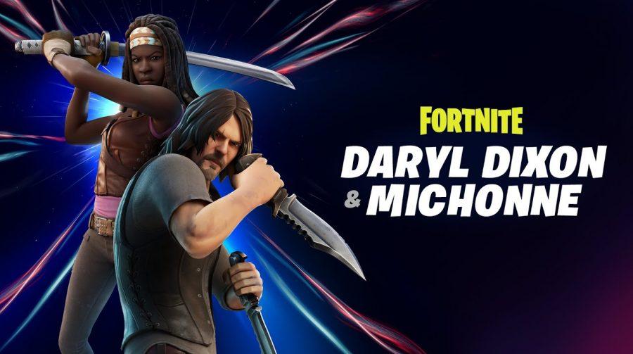 Daryl e Michonne chegarão a Fortnite em breve