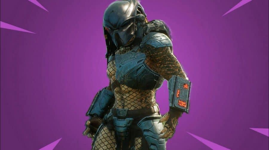 Mais um crossover? Fortnite pode ter skin inspirada no Predador