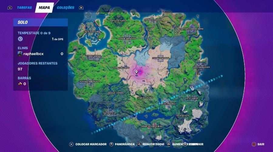 Conheça as principais mudanças no mapa de Fortnite para a Temporada 5