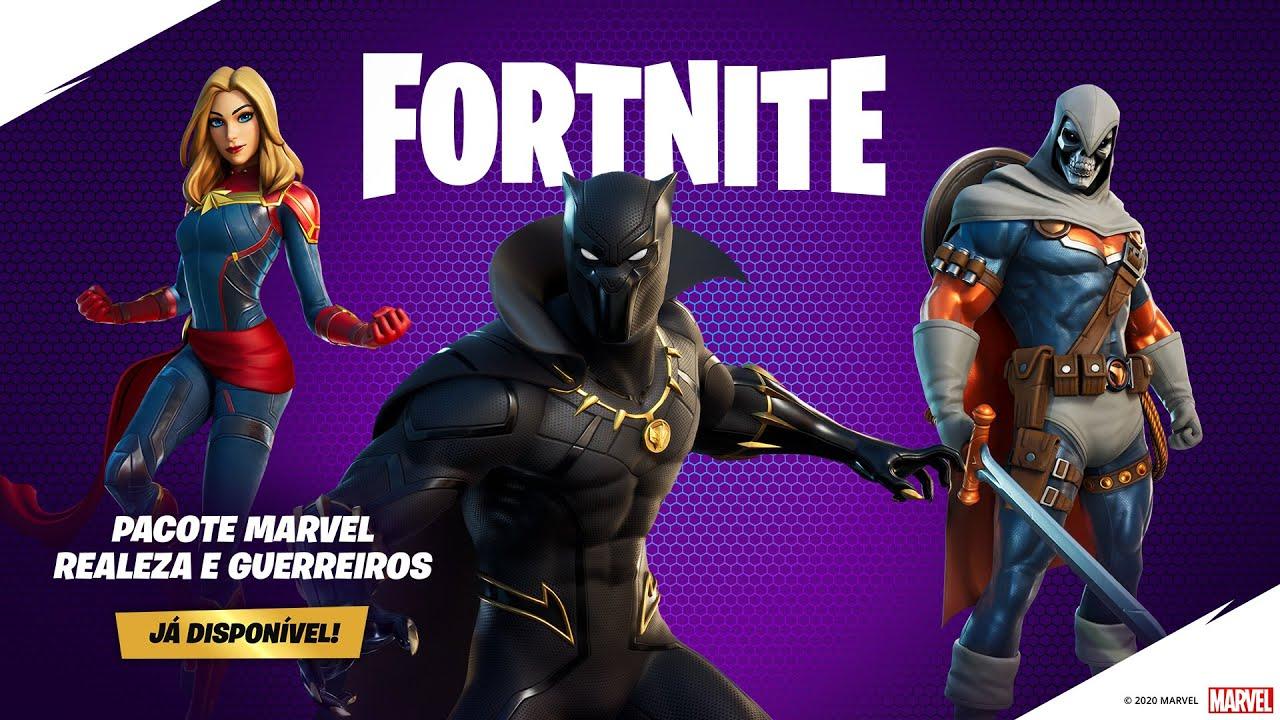 Fortnite novos heróis
