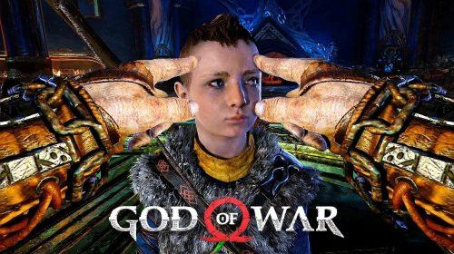 Jogador coloca God of War em 1ª pessoa com mod