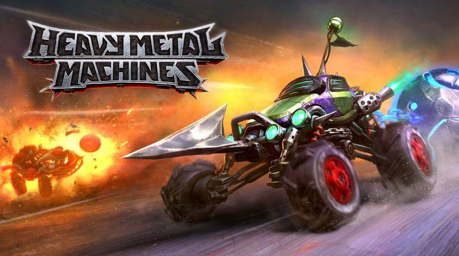 MOBA free to play brasileiro, Heavy Metal Machines chega no início de 2021 ao PS4 e PS5