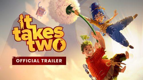 Gameplay de It Takes Two é divertido, caótico e inteligente