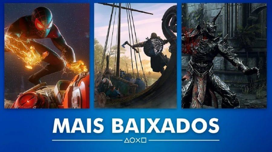 FIFA 21 e Miles Morales lideram listas de mais baixados da PS Store em novembro