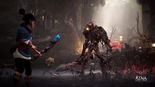 Kena: Bridge of Spirits no PS5 se aproveitará ao máximo do DualSense