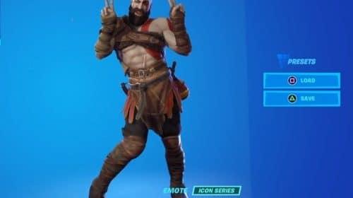 Kratos em Fortnite: veja o espartano em diversas dancinhas