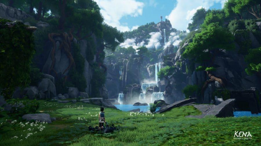 Teaser de Kena: Bridge of Spirits destaca movimentação da protagonista