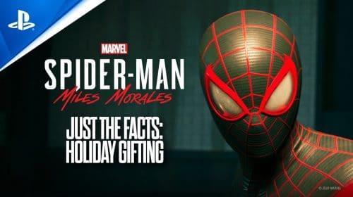 Novo trailer de Marvel's Spider-Man Miles Morales