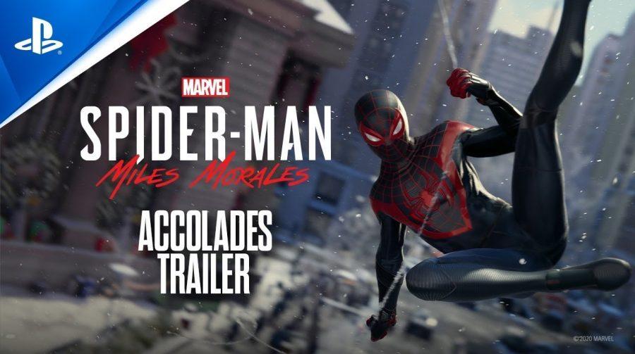 Trailer de Spider-Man Miles Morales recepção do game e notas