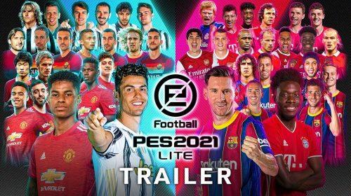 PES 2021 LITE, versão gratuita do game de futebol, já está disponível