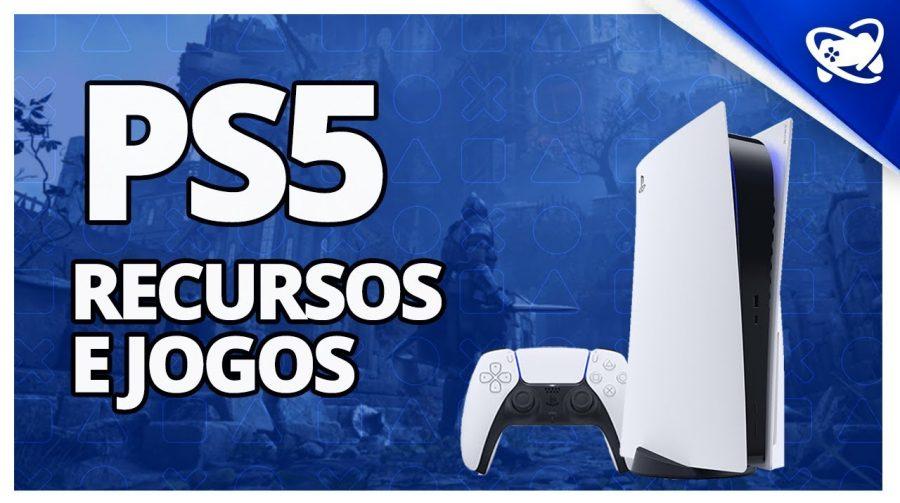 PS5: os principais RECURSOS e JOGOS DE LANÇAMENTO do console!