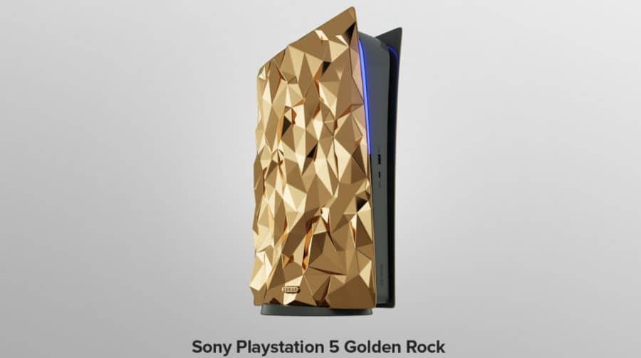 Empresa russa lançará versão do PS5 com 20kg de ouro