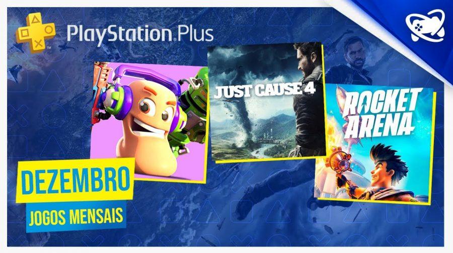 Jogos PlayStation Plus de dezembro já estão disponíveis; baixe aqui!