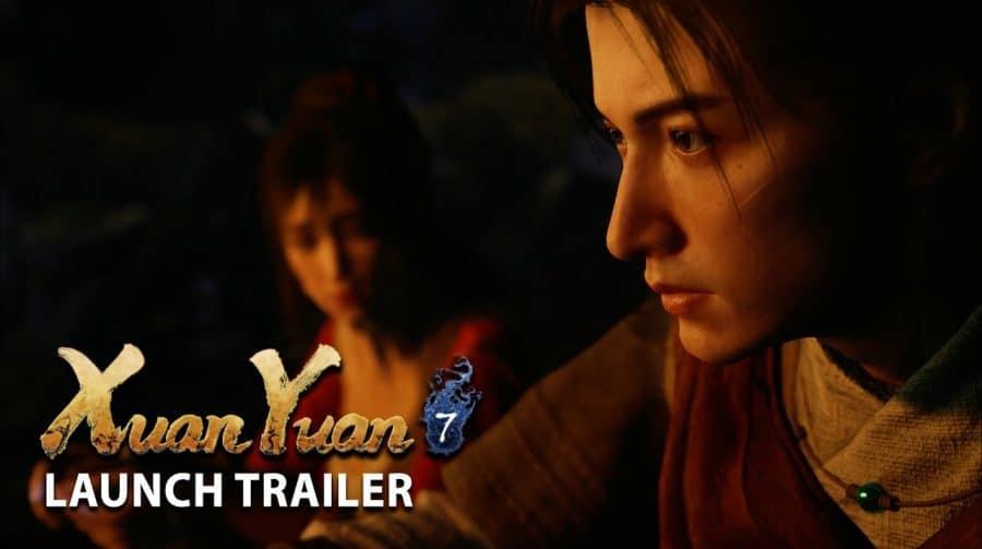 RPG chinês, Xuan-Yuan Sword VII de PS4 chega ao Ocidente em fevereiro de 2021