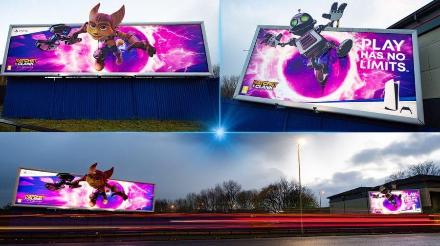 Sony investe em propagandas de Ratchet & Clank: Rift Apart
