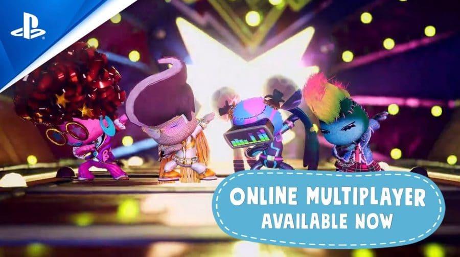 Multiplayer online de Sackboy: Uma Grande Aventura chega hoje (17)