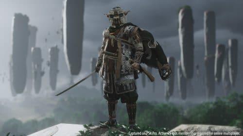 Trajes inspirados em jogos da PlayStation chegam a Ghost of Tsushima