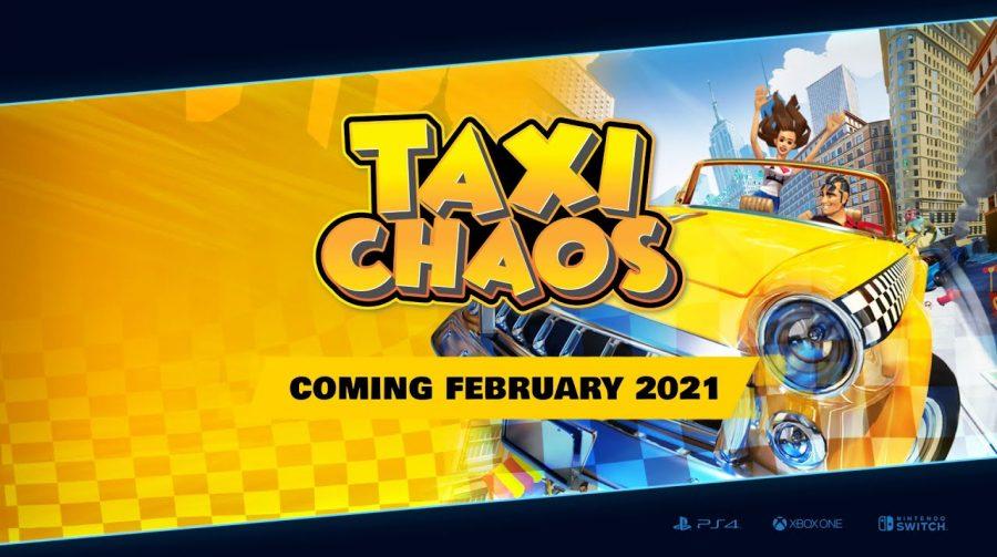 Taxi Chaos chega em fevereiro de 2021 ao PS4