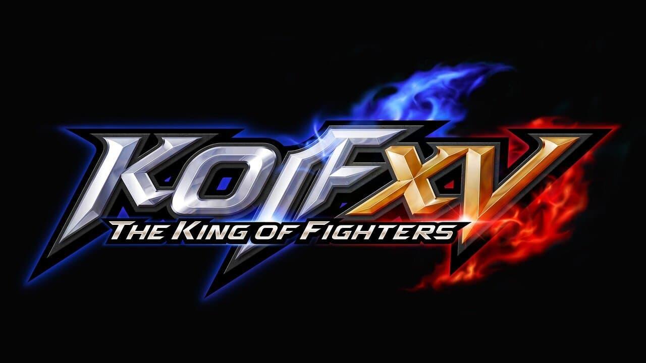 Imagem com a logo do jogo The King of Fighters XV