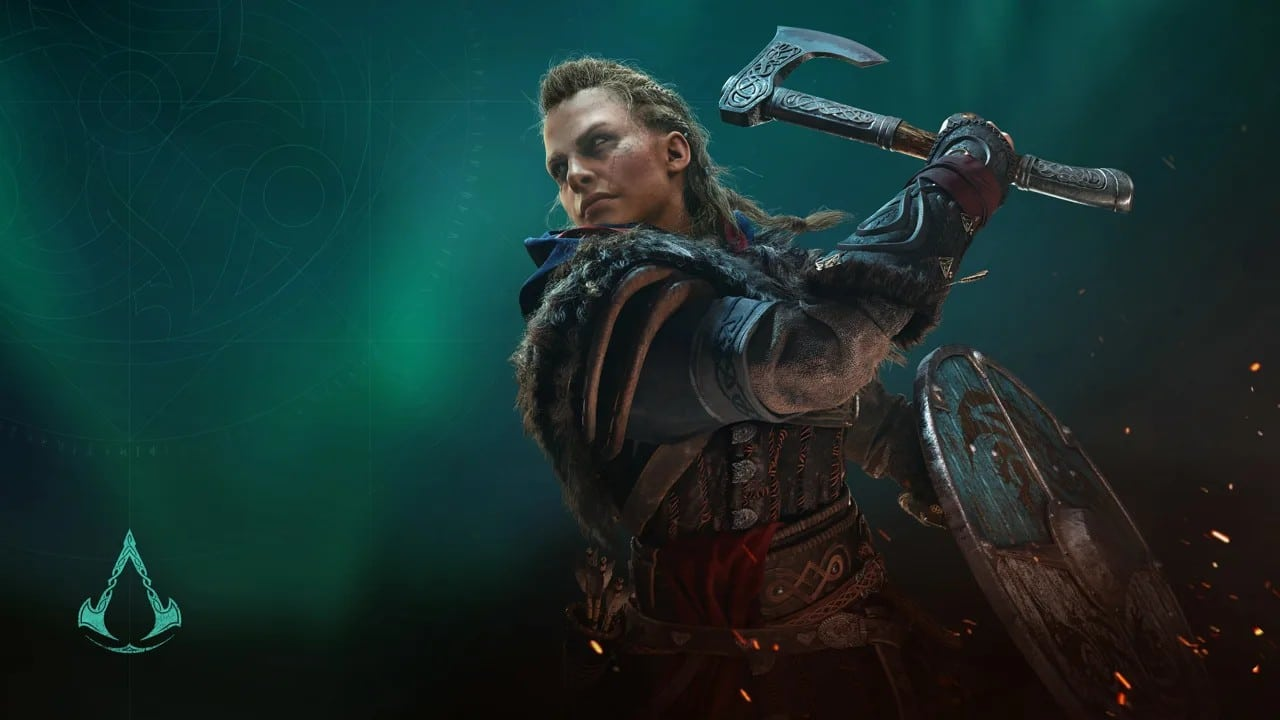 Eivor feminina, protagonista de Assassin's Creed Valhalla