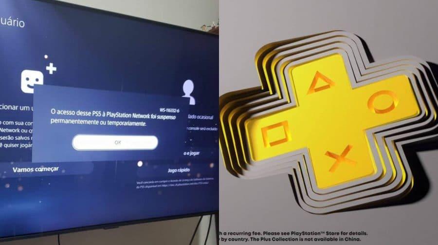 PS5 de brasileiro é banido por resgatar Coleção PS Plus para outros usuários