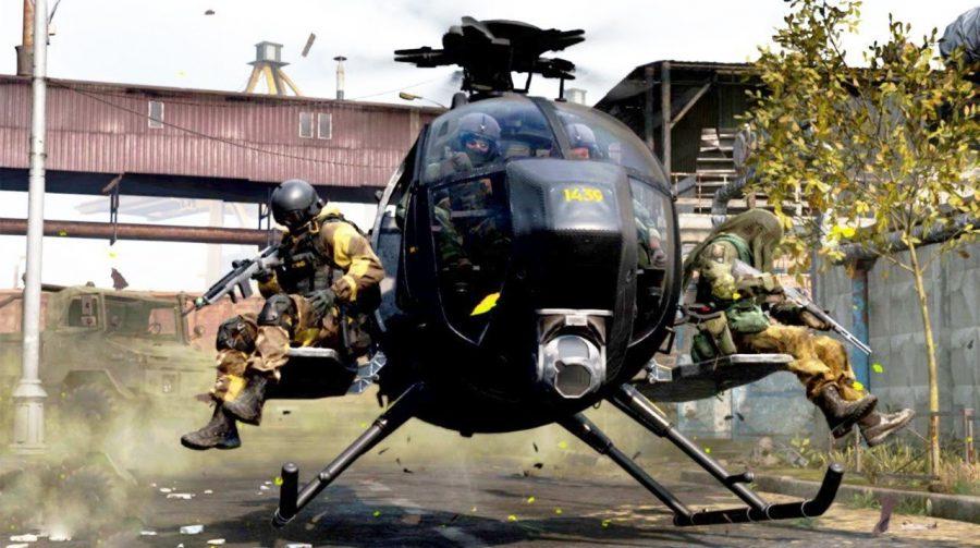 Helicópteros de ataque são desabilitados temporariamente em Warzone