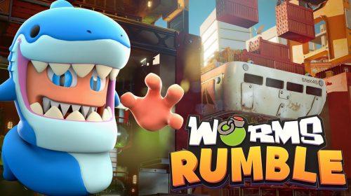 Worms Rumble terá novo mapa