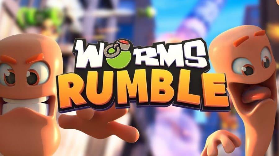Worms Rumble, jogo do PS Plus de dezembro, tem trailer de lançamento divulgado
