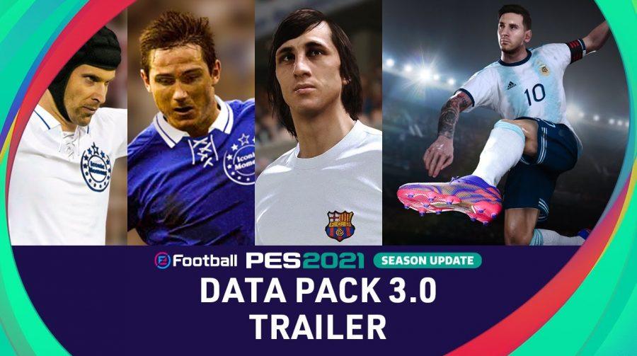 Data Pack 3.0 de eFootball PES 2021 é lançado com Lampard, Cech e mais