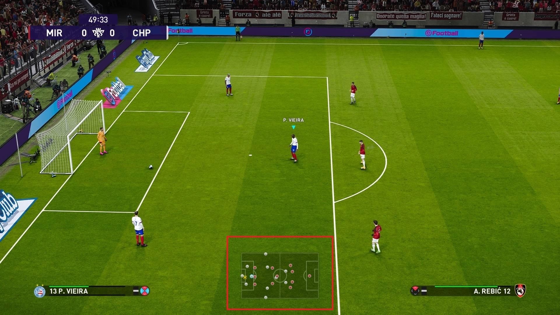 eFootball PES 2021 - Mini mapa