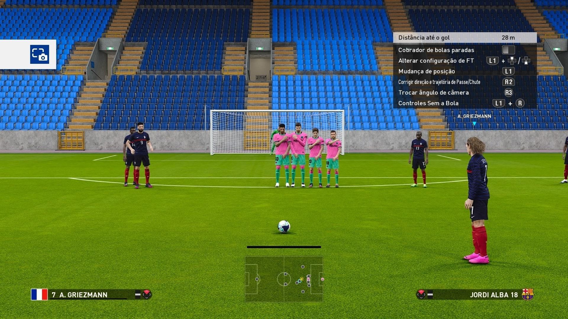 eFootball PES 2021 - Modo Treino