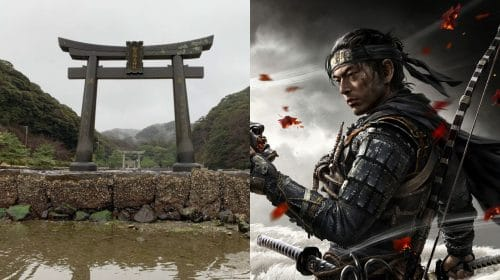 Fãs de Ghost of Tsushima ajudam a restaurar portão Torii na Ilha de Tsushima