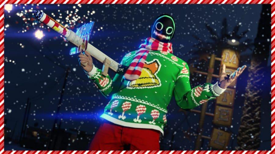 Festas de fim de ano chegam ao GTA Online com diversos presentes para os jogadores