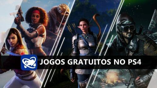 Jogue sem Gastar: os jogos gratuitos no PS4 do momento