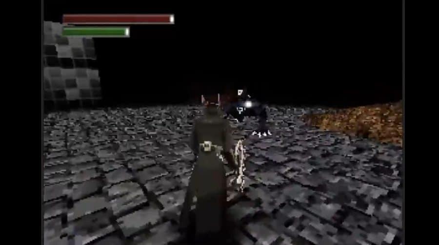 Fã cria versão impressionante de Bloodborne no PS1