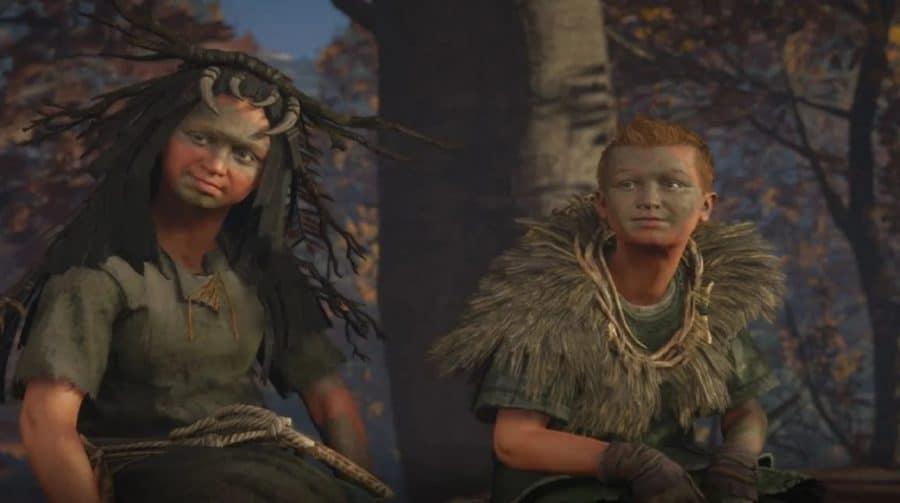 Dev explica os visuais assustadores das crianças de Assassin's Creed Valhalla