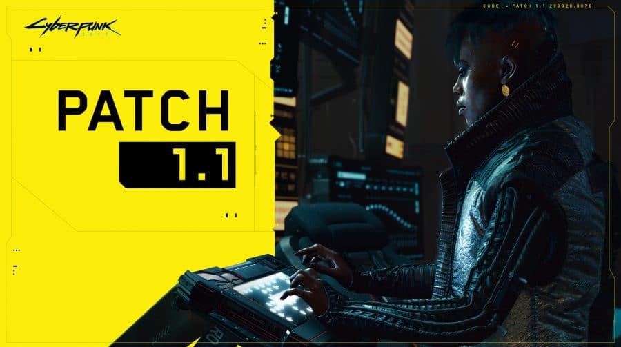 CD Projekt RED lança update 1.1 para Cyberpunk 2077