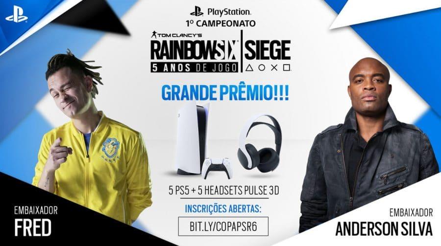 Campeonato de Rainbow Six Siege premiará time vencedor com cinco PS5