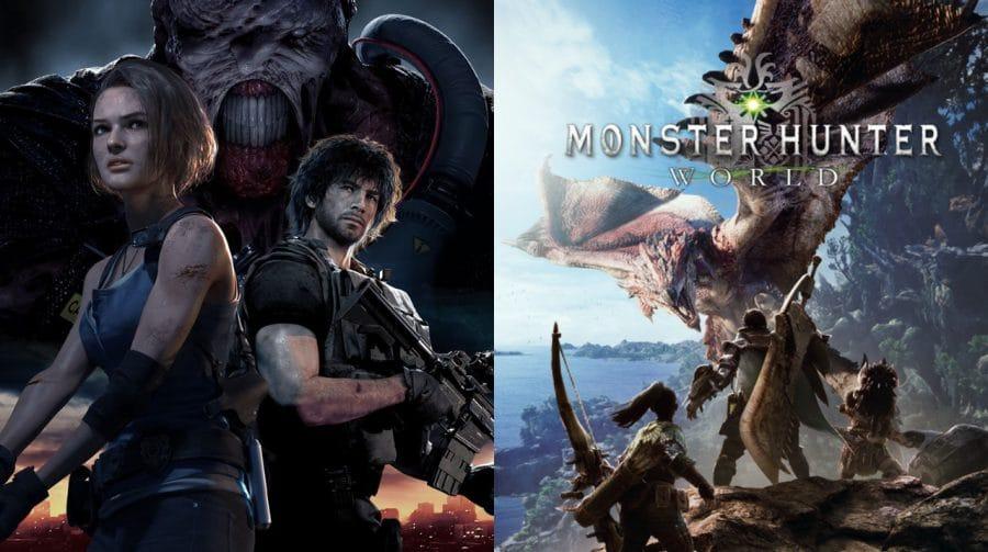 Capcom revisa lucros após boas vendas de Resident Evil 3 e Monster Hunter World