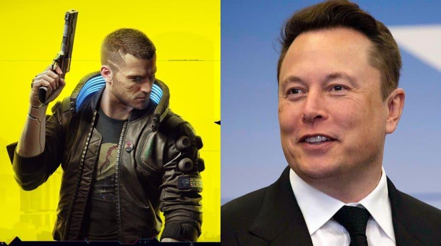Elon Musk elogia Cyberpunk 2077 e ações da CDPR sobem 19%